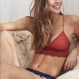 NWOT Aerie stars with you lightly lined bralette